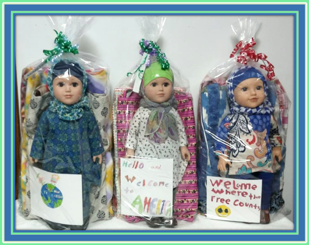 Dolls to Deliver to Lutheran Social Service-Refugee Services-11-27-17