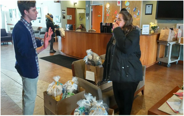 Delivery to Lutheran Social Service--Refugee Services-Minneapolis-2 - 4-16-18 C