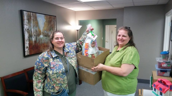 Delivery to Lutheran Social Service-St. Cloud MN --1Doll Gift Tote Bag Tote Bag-1....4-25-18d