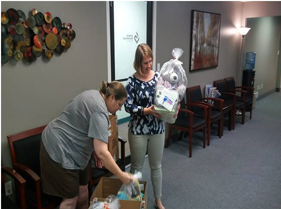 Delivery to Lutheran Social Service--Refugee Services-Minneapolis-1 - 9-17-18 C