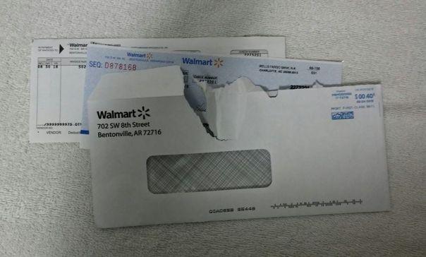 Walmart Cash Grant $500.00 Store # 5976