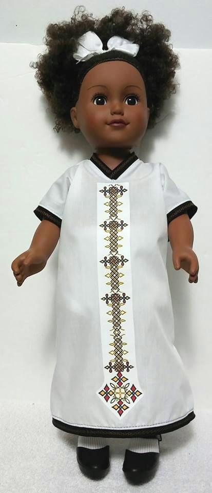 Ethiopian 18 inch Doll