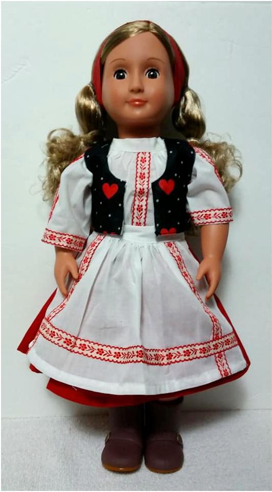 Ukraine 18 inch dolls A