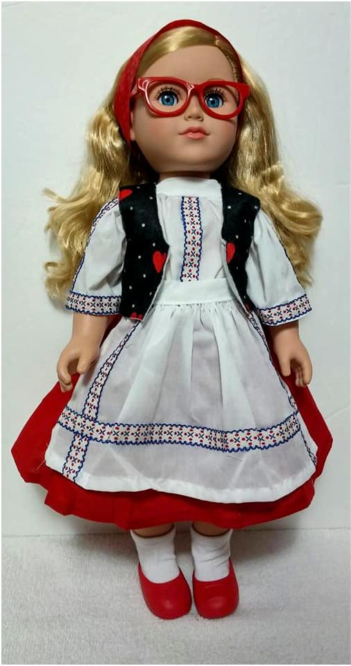 Ukraine 18 inch dolls B