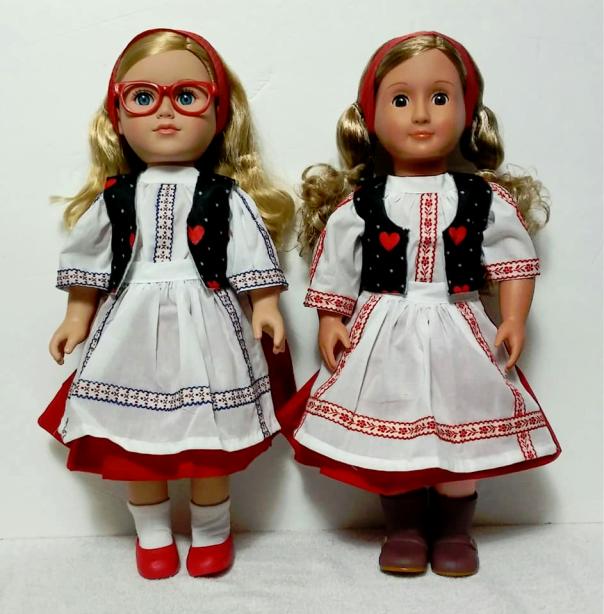 Ukraine 18 inch dolls