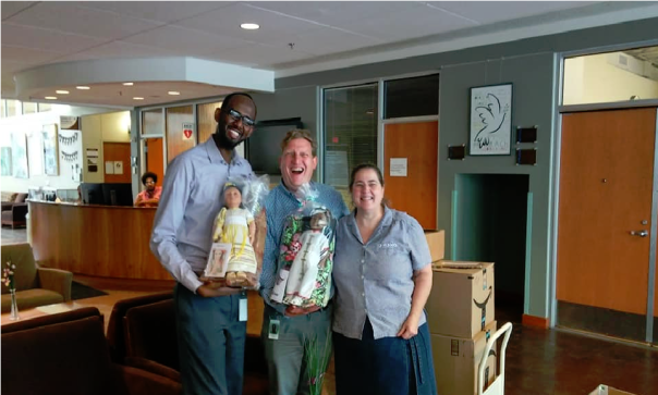 Delivery to Lutheran Social Service--Refugee Services- A-6-3-19