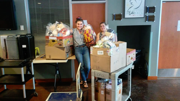 Delivery to Lutheran Social Service - Refugee Services MPLS - A - 6-28-19