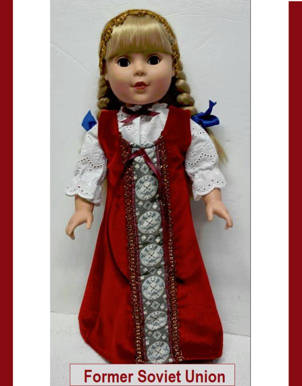 Former Soviet Union - 18 inch doll