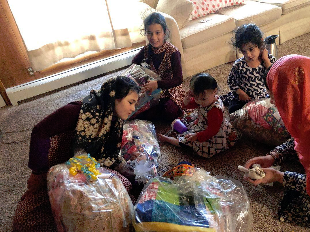Photo from Arrive Ministries - 5 girls from a family of 10 that arrived from Afghanistan 0 2-28-20